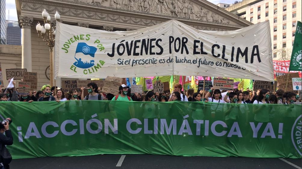 Jóvenes por el Clima Argentina representa en nuestro país a Fridays for Future, la agrupación creada por Greta.