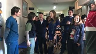 Vidal visitó 9 de Julio y recorrió el centro comercial y la guardia remodelada del Hospital local
