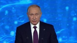 Putin relativiza el juicio contra Trump y advierte sobre una carrera armamentista