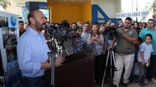 """Insfrán dice que los primeros meses de gobierno de Fernández """"no van a ser fáciles"""""""