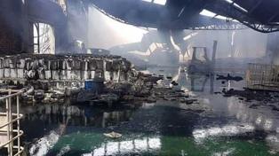 Un muerto tras la explosión en una planta de agroquímicos en Mercedes
