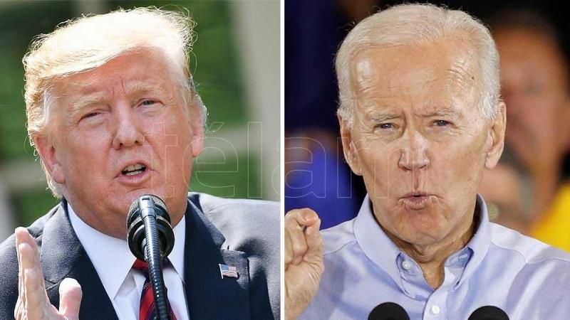 Trump y Biden, listos para su primer debate antes de las elecciones