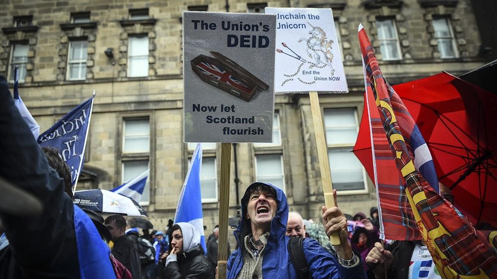 Si vuelven a ganar los nacionalistas del SNP, prometen un nuevo referéndum independentista