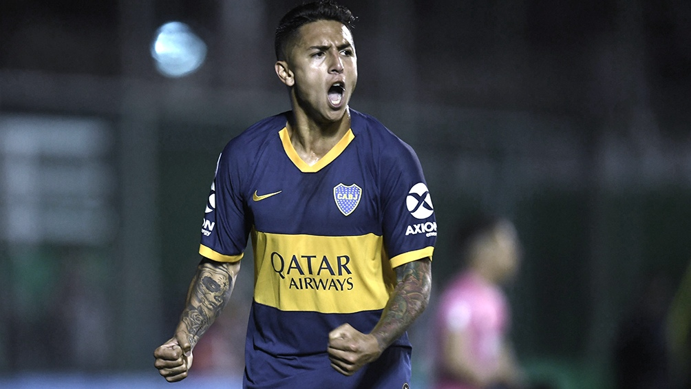 Almendra, uno de los futbolistas que no será tenido en cuenta (Foto Archivo)
