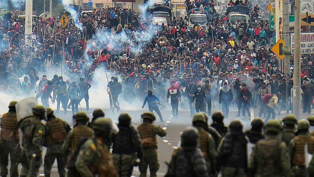 Los delitos aluden a la represión de las movilizaciones de octubre de 2019