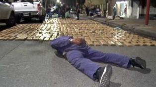 Casi dos toneladas de marihuana secuestradas y dos detenidos en operativo antidroga