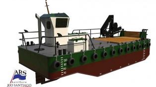 El Astillero Río Santiago construirá dos embarcaciones para dragado