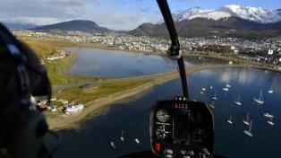 Optimismo en Ushuaia para el verano por su conectividad aérea, cruceros y atractivos tradicionales