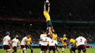 Trabajosa victoria de Australia ante Georgia por 28 a 7
