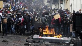 Dramático panorama en medio de la rebelión contra el ajuste de Moreno