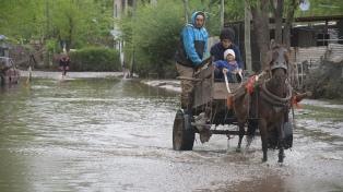 Quedan 250 personas evacuadas por las inundaciones en La Matanza