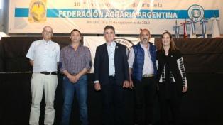 """La Federación Agraria Argentina pidió """"políticas diferenciadas"""" para el sector"""