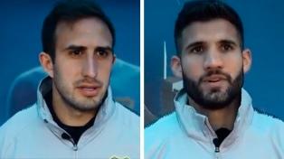 Izquierdoz y López apelan a jugar con calma ante River en la Boca