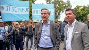 Pichetto y Frigerio cerraron gira de campaña por cuatro provincias