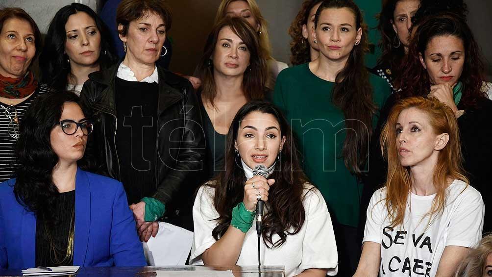 Participarán el colectivo Actrices Argentinas y Amnistía Internacional