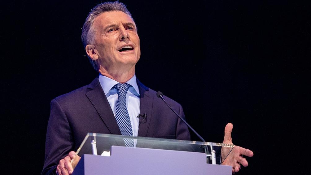"""""""Vamos a perder el potencial de una generación de jóvenes si las aulas siguen vacías"""", afirmó Macri."""