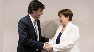 El FMI reiteró su apoyo a la política monetaria y al programa económico de la Argentina