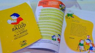 Con diseño y lenguaje inclusivo, presentaron nuevas libretas de la infancia