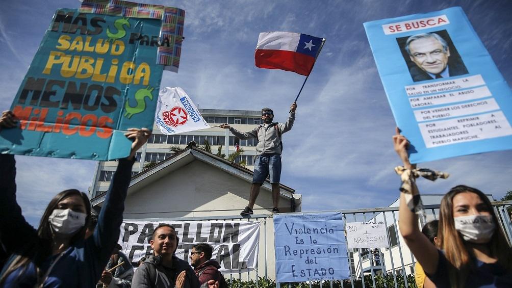 Los chilenos decidirán el 25 de octubre si desean una nueva Constitución que reemplace la heredada de la dictadura
