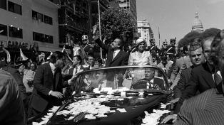Las asunciones presidenciales desde el regreso de la democracia