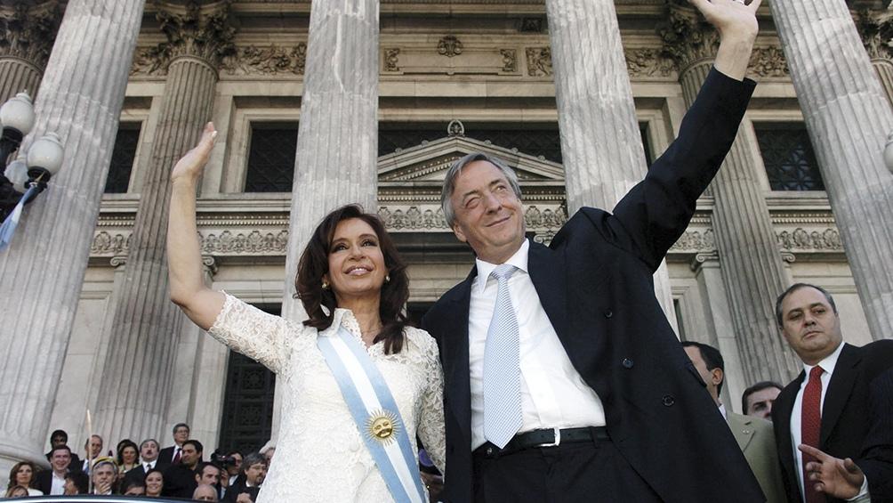 Cristina y Néstor Kirchner devolvieron las esperanzas a miles y miles de jóvenes.