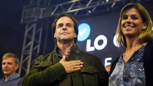 La alianza opositora que respalda a Lacalle Pou presentó su acuerdo