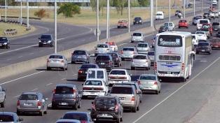 Más de 2300 autos por hora circulan hacia la Costa Atlántica por el cambio de quincena
