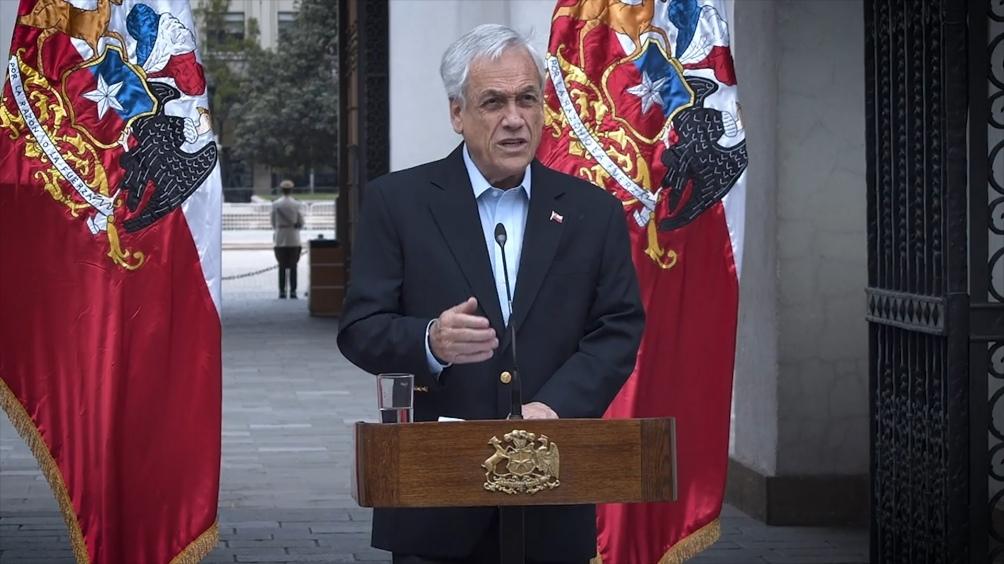 El presidente de Chile anunció un plan con medidas y ayudas económicas a la clase media