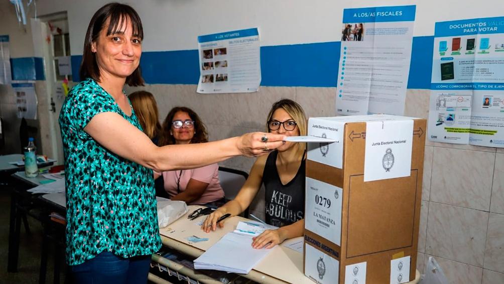 Romina Del Plá, celebró los resultados obtenidos.