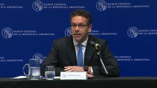 Sandleris aseguró que dejará el Banco Central con más reservas que en el 2015