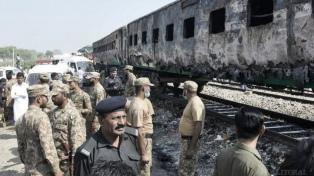 Ascienden a 73 los muertos por la explosión de una garrafa de gas en un tren
