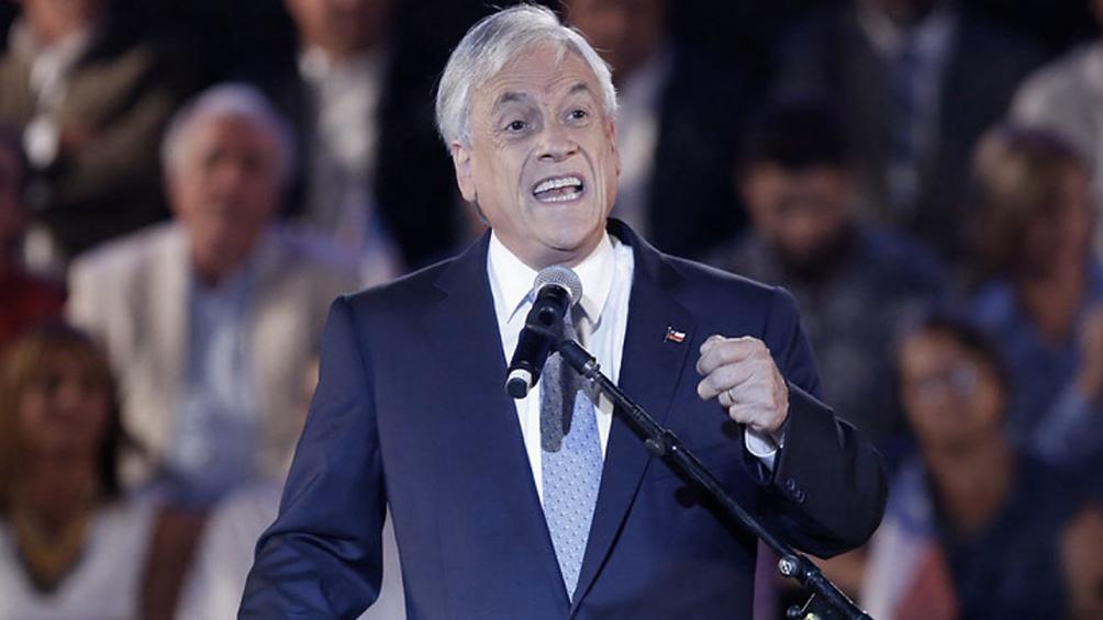 """""""No queremos que ingresen a nuestro país el crimen organizado, el contrabando, el narcotráfico"""", dijo el presidente chileno"""