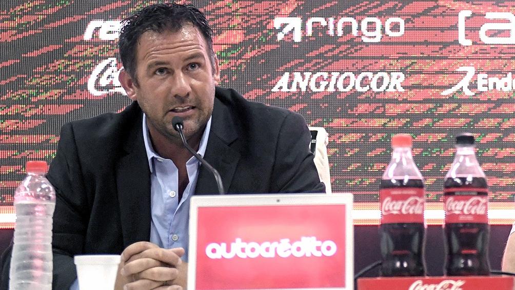Dabove negó que hubiera un acuerdo previo con San Lorenzo.