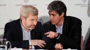 Frigerio y Pérez dan una conferencia de prensa por el escrutinio definitivo