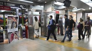 Los metrodelegados liberan molinetes en reclamo del cierre de las paritarias 2019