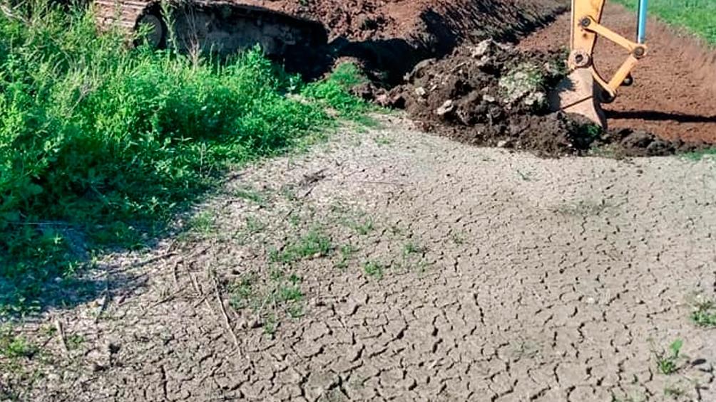 En Chaco hay hectáreas de cultivo dañadas por la sequía.
