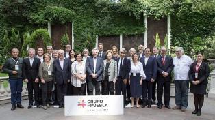 El Grupo de Puebla realiza hoy un encuentro virtual, a un año de su creación