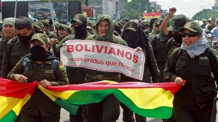 Morales denunció un golpe, pese a las nuevas elecciones
