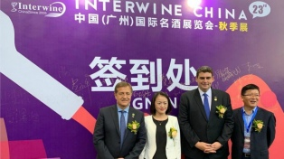 La provincia será coorganizadora de la Interwine China el año próximo
