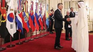 Macri recibió cartas credenciales de nueve embajadores extranjeros acreditados en la Argentina