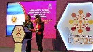 Argentina comprometió 20 objetivos en derechos sexuales y de la mujer