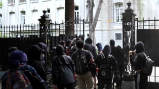 """Bordón, tras el ataque a la embajada: """"La zona céntrica de Santiago es tierra de nadie"""""""