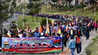 Manifestaciones y piquetes contra la postergación de las elecciones