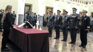 """Según Áñez, los militares ganaron """"autoridad moral"""" tras los ascensos por decreto"""