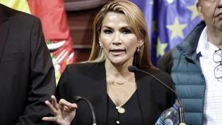 El Parlamento boliviano reclama al fiscal general el enjuiciamiento a Áñez por genocidio