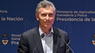 """Macri pidió que el campo dialogue """"con la mejor predisposición"""" con el gobierno electo"""