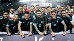 Argentina le ganó a Brasil con gol de Messi
