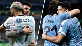 Argentina empató 2 a 2 ante Uruguay en Israel, con un gol de Messi en el descuento