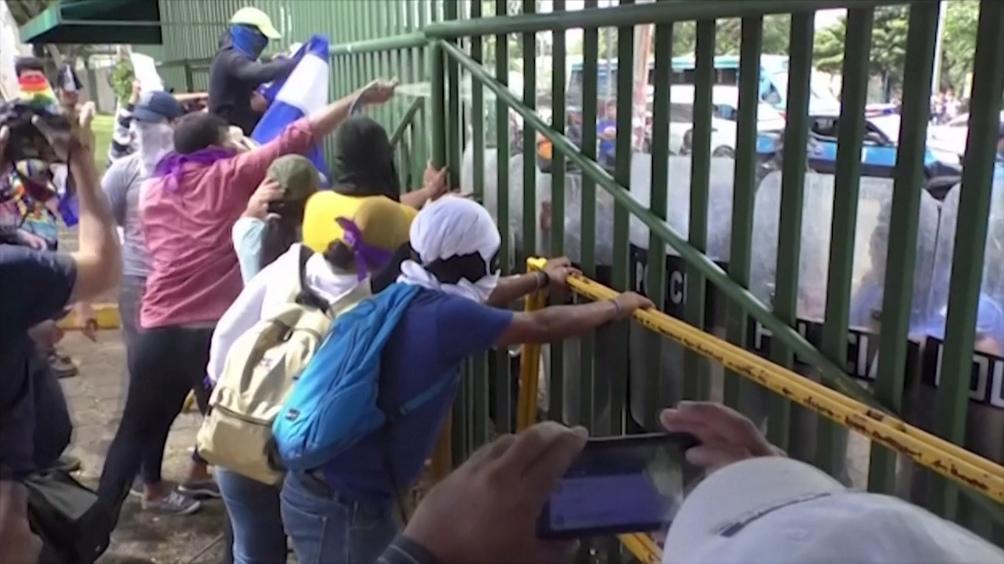 El presidente Ortega es blanco de críticas de la comunidad internacional por la represión desatada.