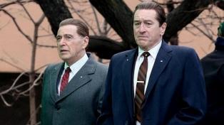 """Tres argentinos responsables de los efectos de """"El irlandés"""" aspiran a un Oscar"""